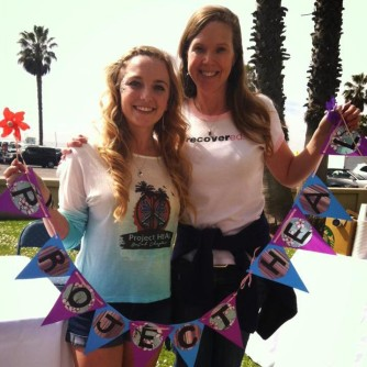Meg and me at the LA NEDA walk! Meg is the co-founder of the Project HEAL Southern California chapter!