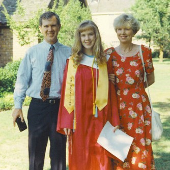 Jenni Shaefer and parents