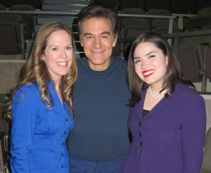 Jenni, Dr. Oz, and Dr. Thomas