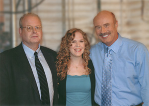 Dr. Phil with Jenni