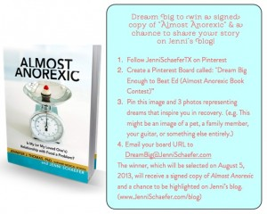 Dream Big Pinterest Contest