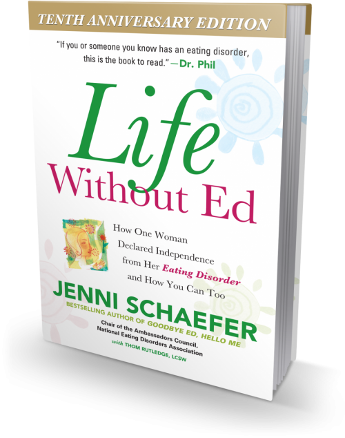Life Without Ed book | Eating Disorder, Anorexic | Jenni ...