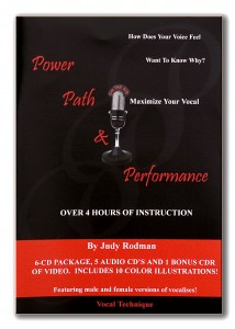 """Post a comment below for a chance to win Judy's """"Power, Path, and Performance"""" CD package!"""